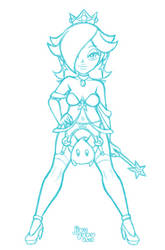 Princess Rosalina - Maid of Star Stuff by JiveGuru