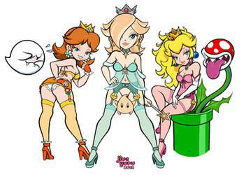 Super Mario Bros. - Triple Threat by JiveGuru