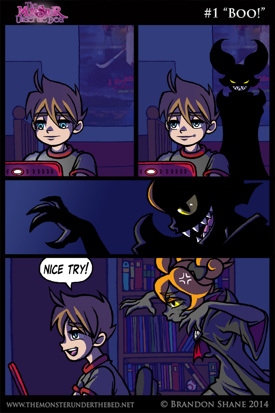 The Monster Under the Bed - 001 - Boo! by JiveGuru on