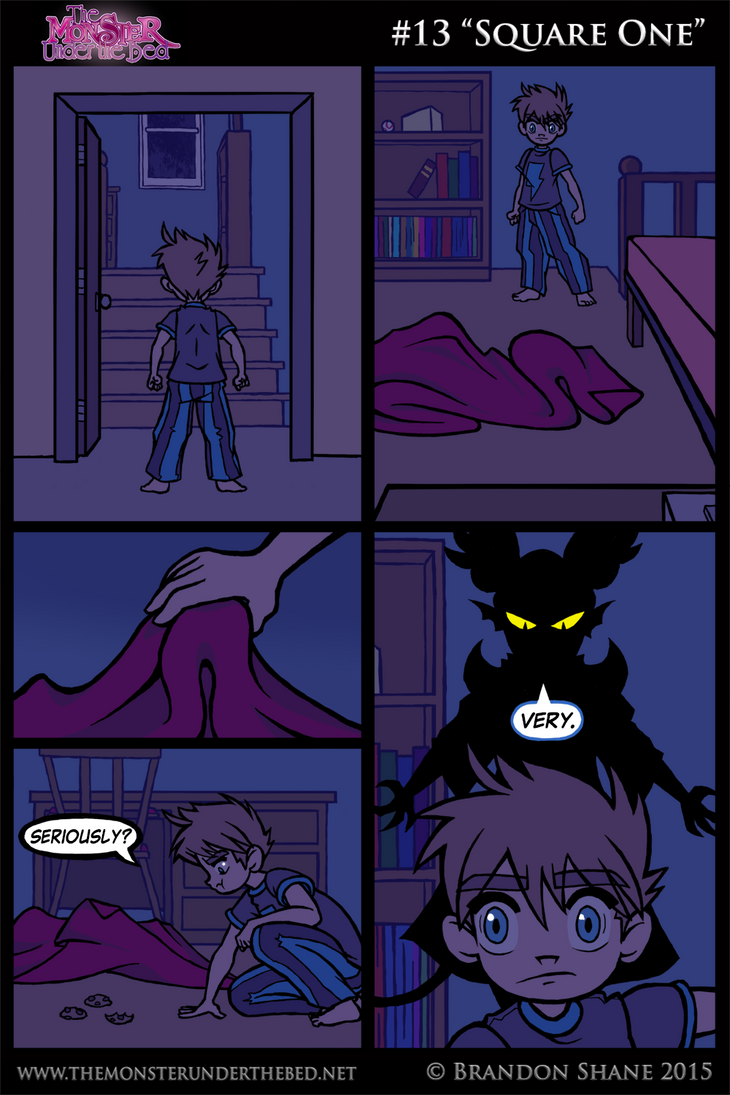 The Monster Under the Bed - 013 - Square One by JiveGuru