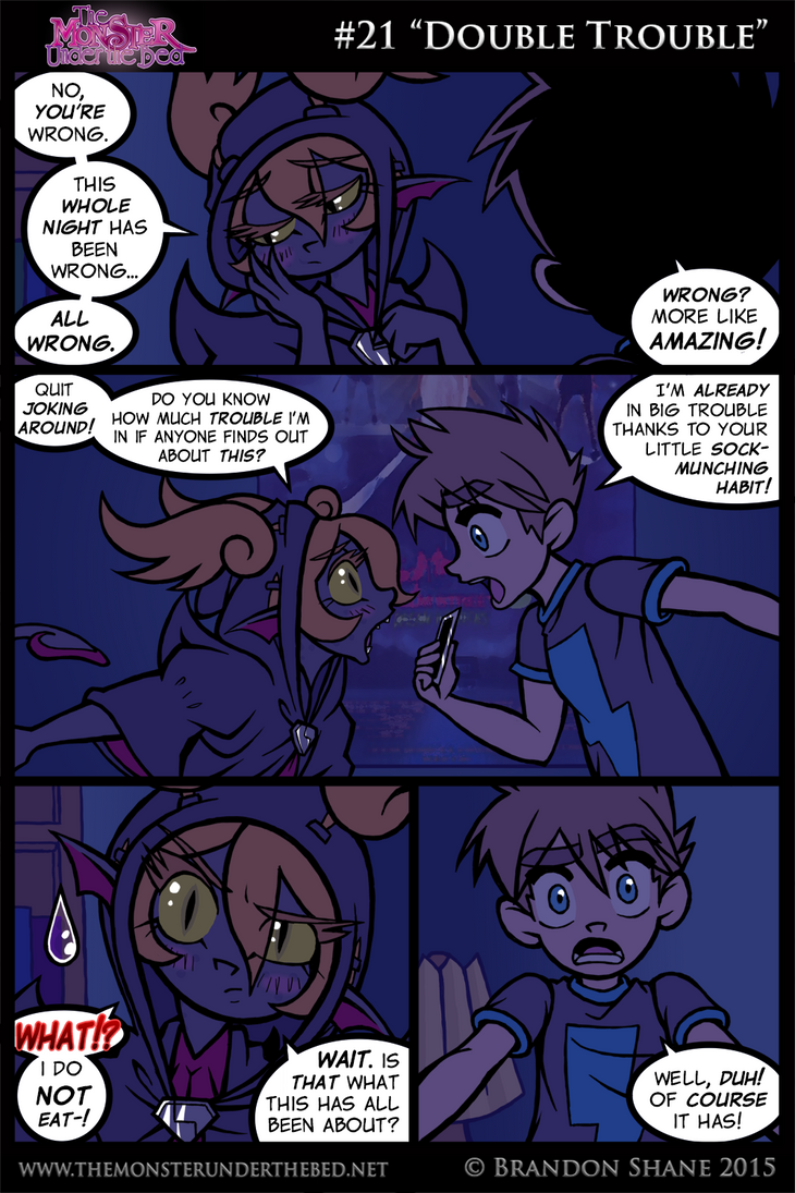 The Monster Under the Bed - 021 - Double Trouble by JiveGuru