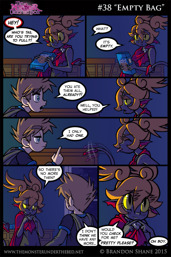 The Monster Under the Bed - 038 - Empty Bag by JiveGuru