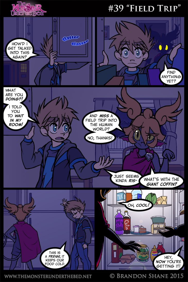 The Monster Under the Bed - 039 - Field Trip by JiveGuru