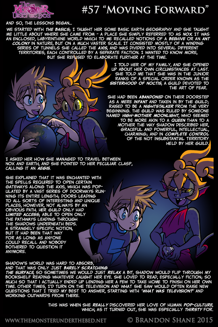 The Monster Under the Bed - 057 - Moving Forward by JiveGuru