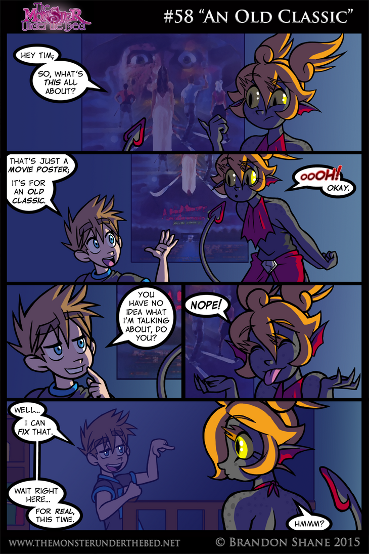 The Monster Under the Bed - 058 - An Old Classic by JiveGuru