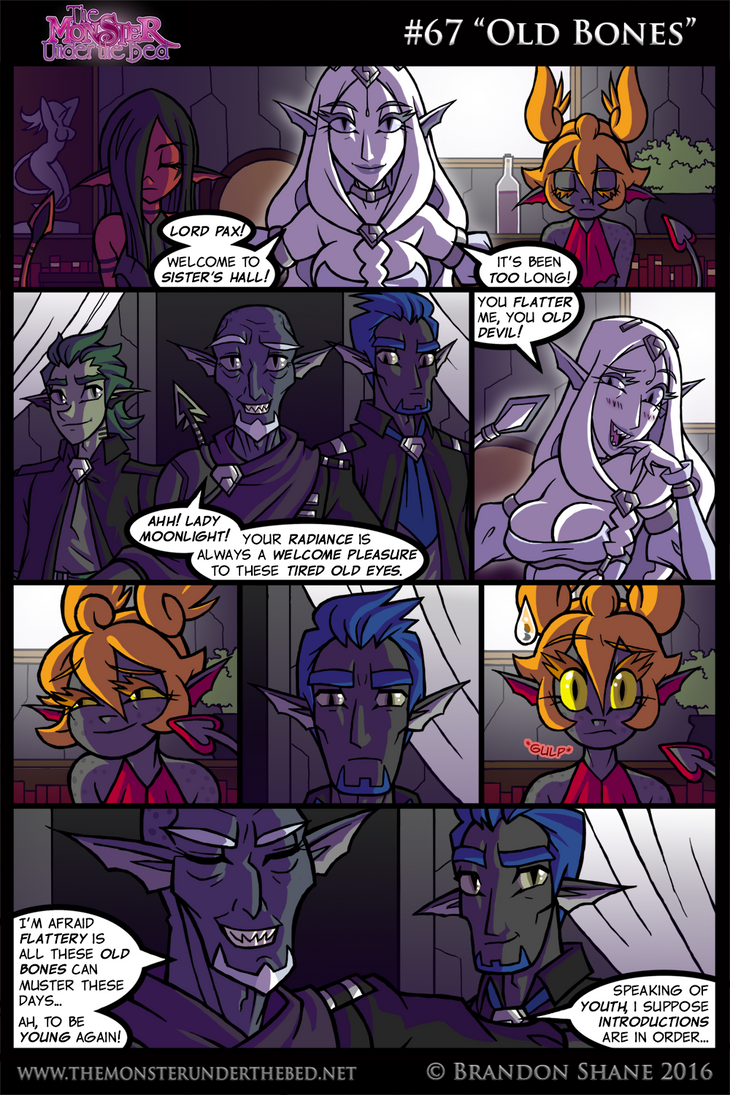 The Monster Under the Bed - 067 - Old Bones by JiveGuru