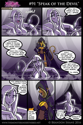 The Monster Under the Bed -091- Speak of the Devil by JiveGuru