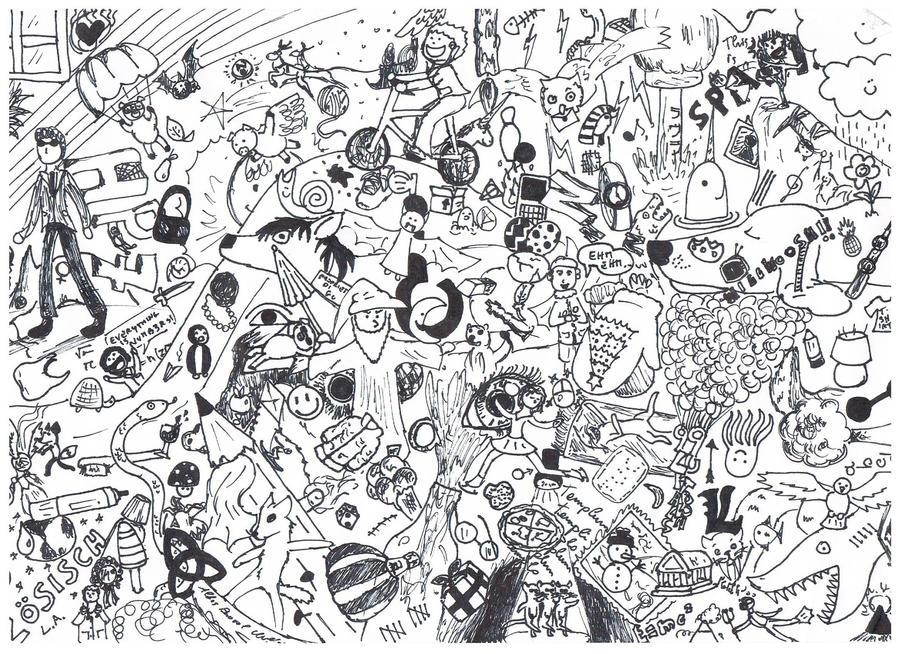 A random drawing by shiloh96 on deviantart for Random cute drawings
