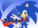 Brawl-paper: Sonic