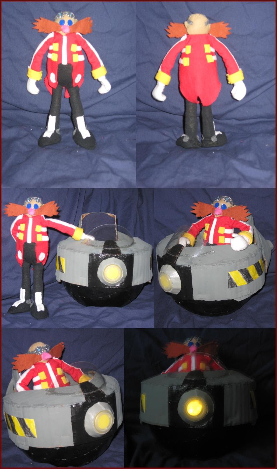 Dr. Eggman Plushie by Zero20-2