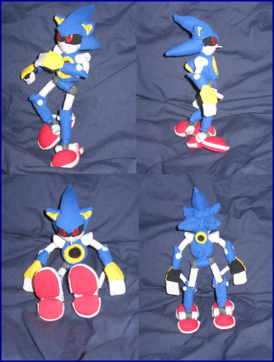Metal Sonic Plushie