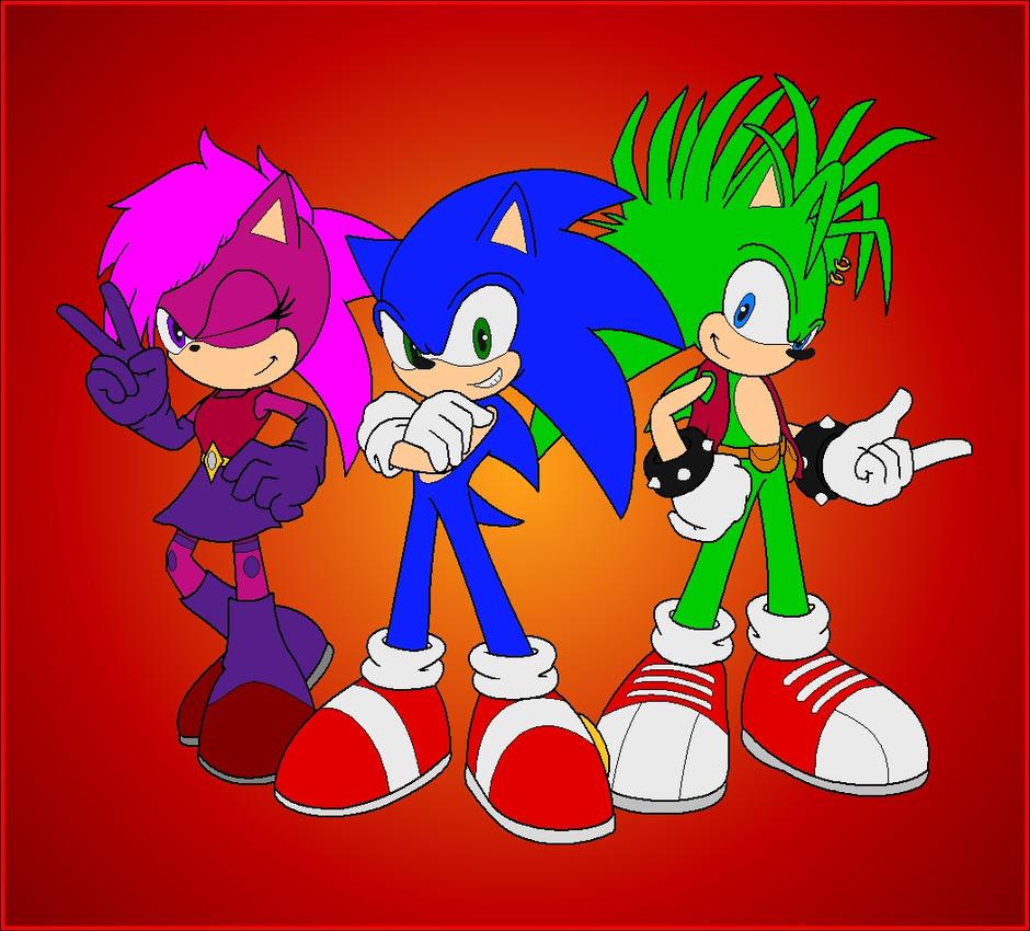 Sonic Underground - Redub by Zero20-2 on DeviantArt  Sonic Underground