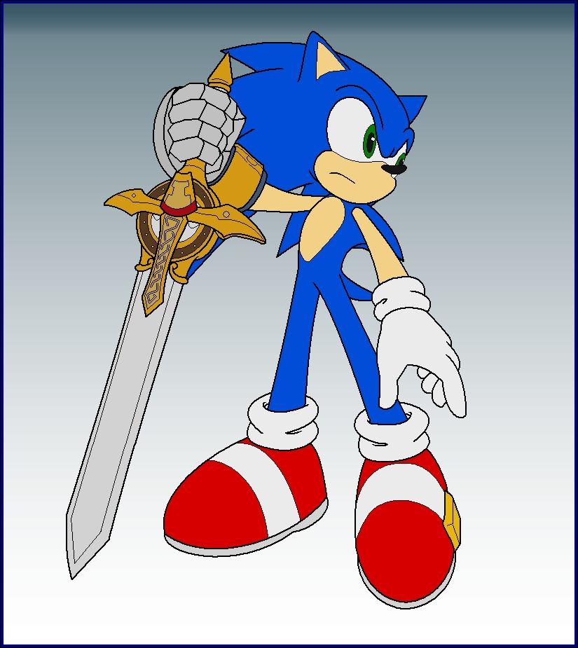 Sonic Knight Of The Wind By Zero20 2 On Deviantart