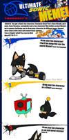 Zero the Wolf - Sonic Meme
