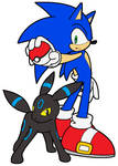Sonic and Umbreon