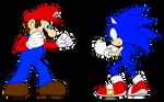 Mario Vs. Sonic: Ready... Set...