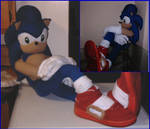 Giant Sonic Plushie