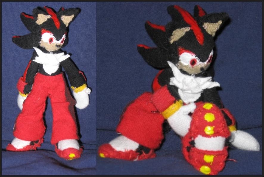 Shadow The Hedgehog Plushie