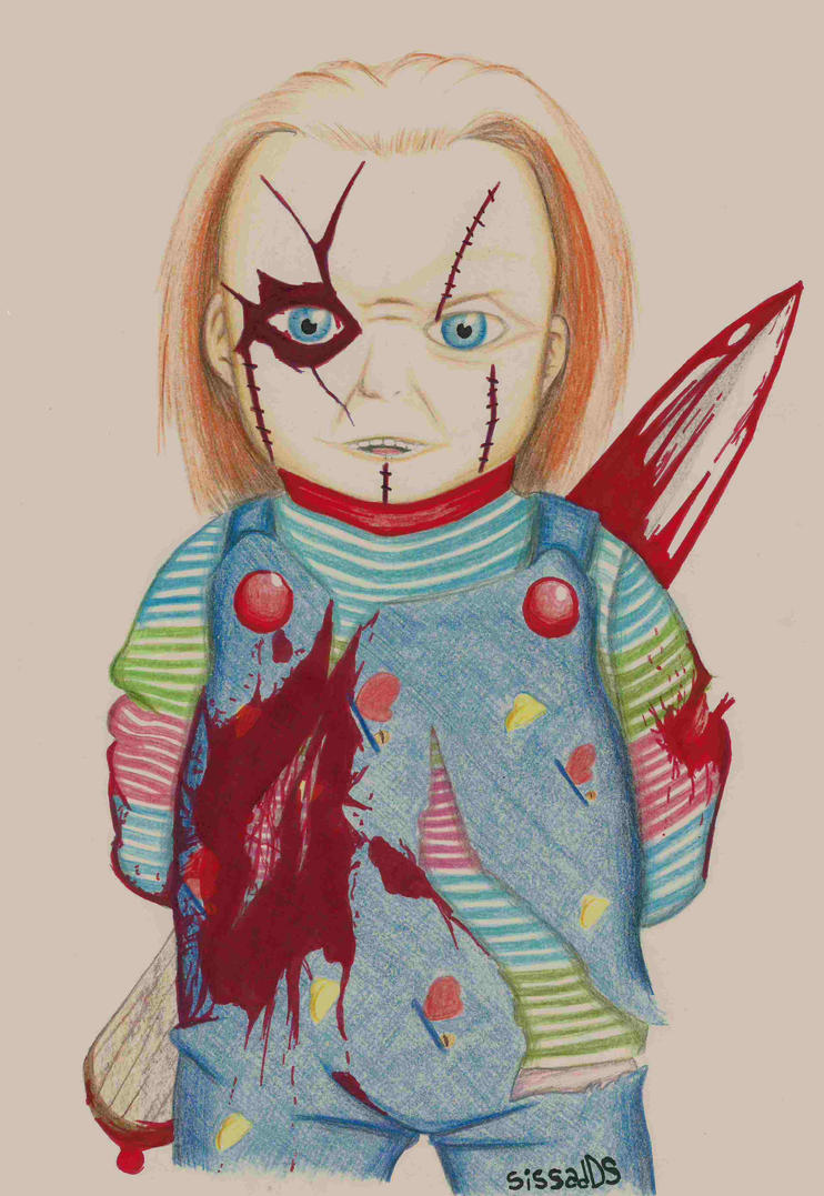 Realistic Coloring Of Chucky: Chucky Senpai! By SissadDS On DeviantArt