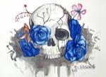 skull (tattoo design 2) by sissadDS