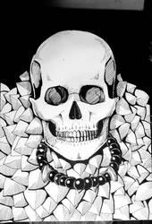 ink skull by sissadDS