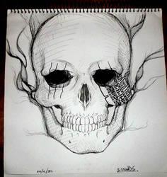 skull xD by sissadDS