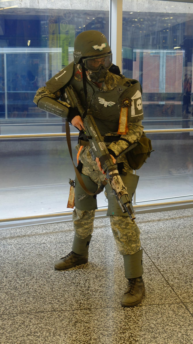 how to make imperial guard cosplay