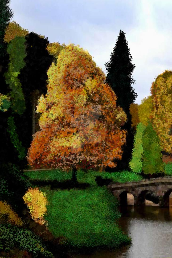 Paisaje orilla del rio by MinPic