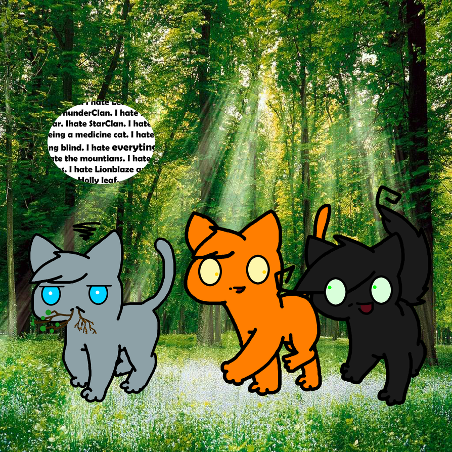 Warrior Cats Hollyleaf And Breezepelt Fanfiction Warrior Cats Hollyleaf...