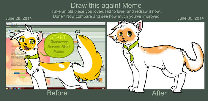 Draw it again -- Wolfpaw