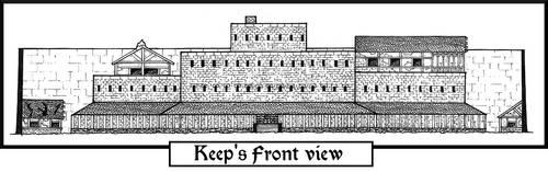 Garna's Keep. Front view