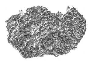 City sketch 2 by Fred73fr