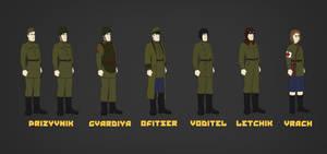 Dubrovzkan Forces