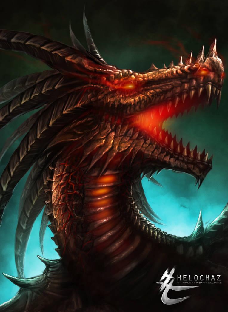 INFERNAL DRAGON by HeLoChaz