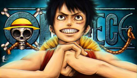 Luffy by HeLoChaz
