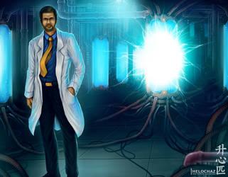 Commission art Scientist by HeLoChaz