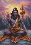 Shiva Shankar Mahadeva by Nila-Vanwolf