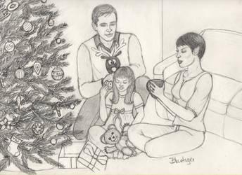 Christmas Eve by 4bluetiger