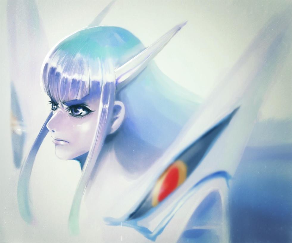 Kill la Kill  Junketsu Satsuki by ta-ku-zou