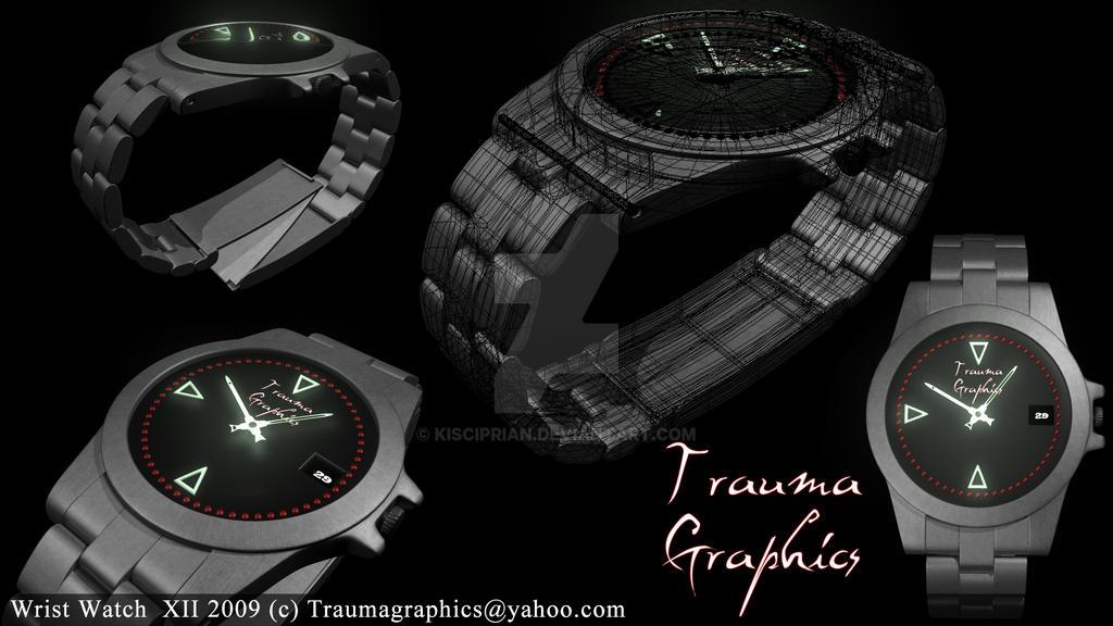 Wrist watch by kisciprian on deviantart for Minimal art wrist watch