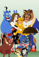 Commission - Disney Lou by happymonkeyshoes