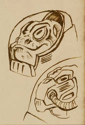 Nostalgia Jam: Krulos Sketch by happymonkeyshoes