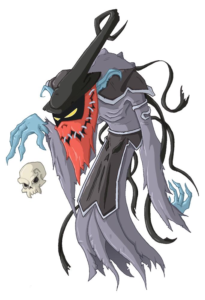 Necro of the Azurite Coven by happymonkeyshoes