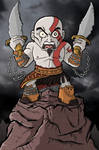 Kratos - Angry Spartan Warrior