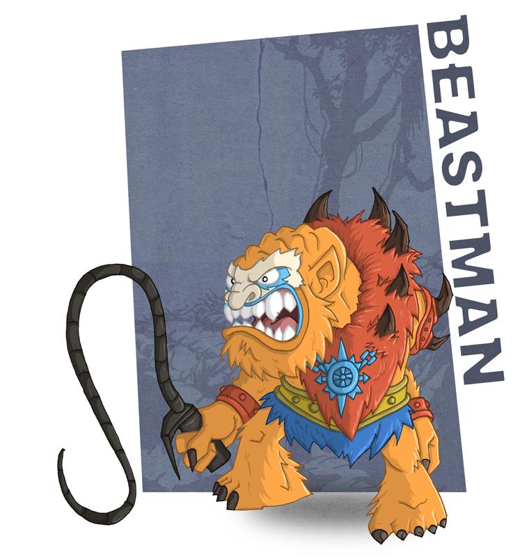 Meejitz - Beastman by happymonkeyshoes