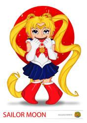 Japan Commission- Sailor Moon by happymonkeyshoes