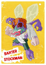 TMNT - Baxter Stockman by happymonkeyshoes