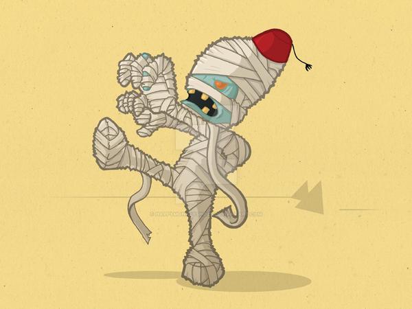 The Mummy by happymonkeyshoes