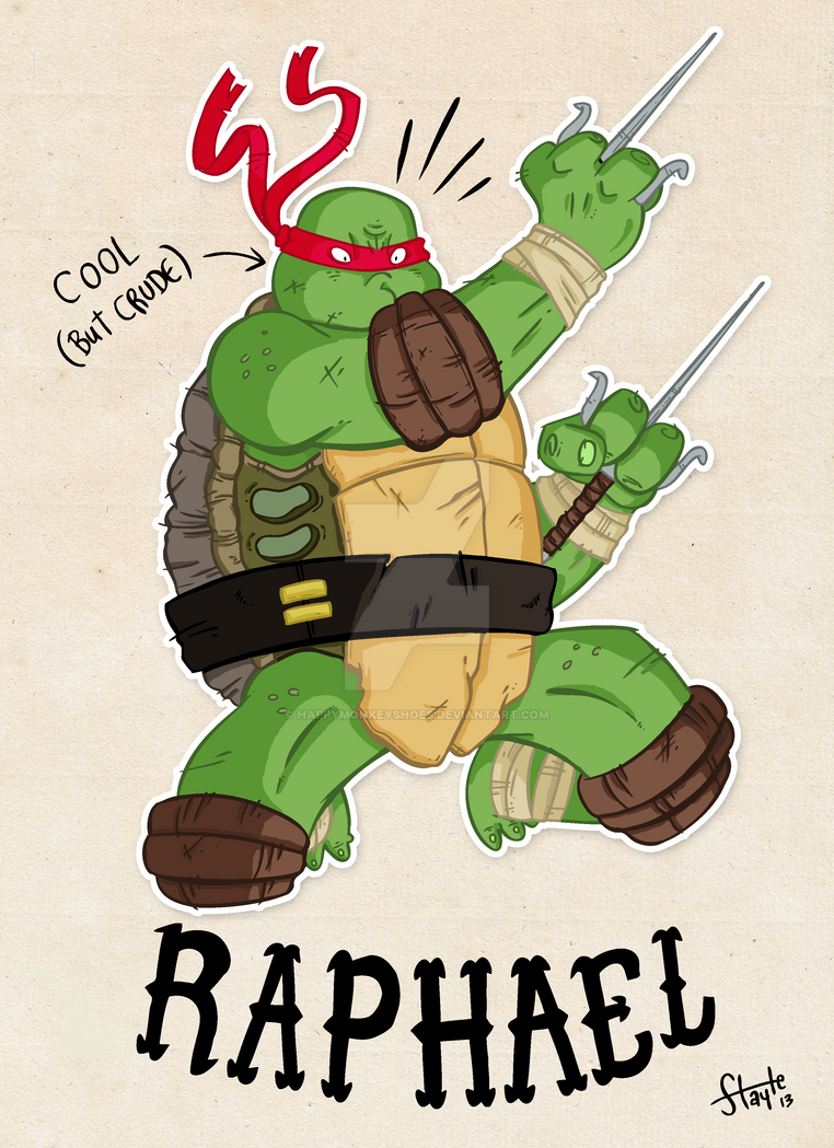 COLLAB - Raphael by happymonkeyshoes