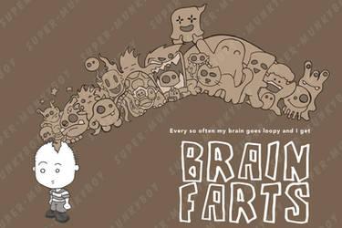 AS a kid - Brain farts by happymonkeyshoes